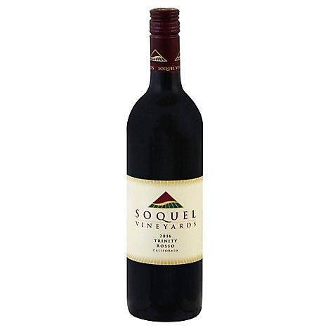 Soquel Vineyards Trinity Red Wine - 750 Ml