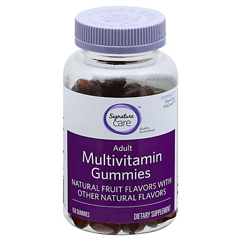 Signature Care Gummy Multivitamin Adult Dietary Supplement - 150 Count