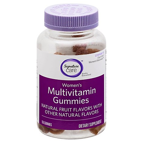 Signature Care Gummy Multivitamin Women Dietary Supplement - 150 Count