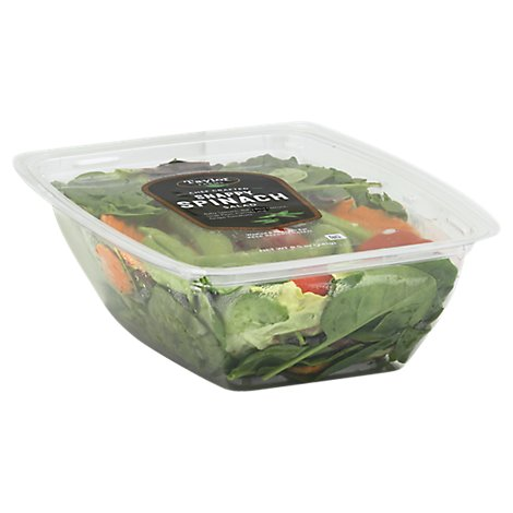 Taylor Farms Salad Snappy Spinach - 8.5 Oz