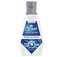 Crest Pro Health Advanced Mouthwash Alcohol Free Extra Whitening - 32 Fl. Oz.