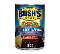 BUSHS BEST Cocina Latina Beans Black Refried - 16 Oz