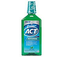 ACT Mouthwash Anticavity Fluoride Mint Burst - 33.8 Z