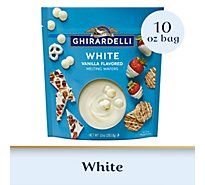 Ghirardelli Chocolate Melting Wafers Candy Making & Dipping White - 10 Oz