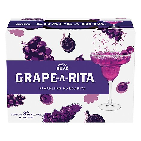 Bud Light Grape-A-Rita In Cans - 12-8 Fl. Oz.