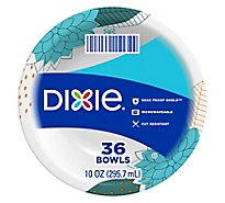 Dixie Everyday Paper Bowls Printed 10 Ounce - 36 Count