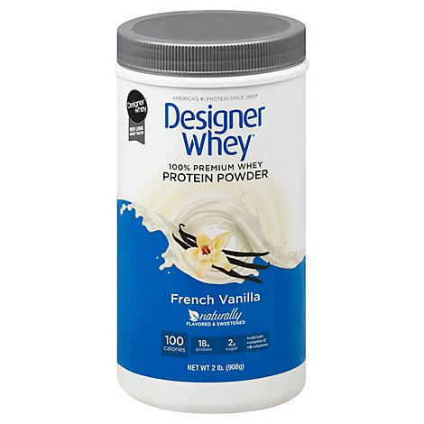 Desig Whey Pwdr French Vnla - 32.0 Oz