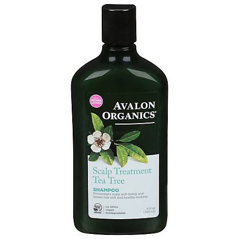 Avalon Org Shampoo Ttree Trt - 11 Oz