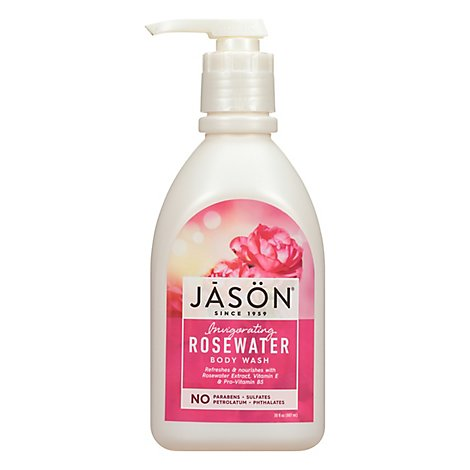 Jason Body Wash Glyc & Rose - 30 Oz