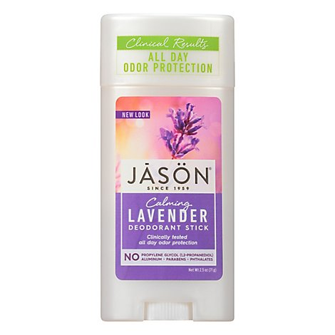Jason Deod Stick Lavender - 2.5 Oz