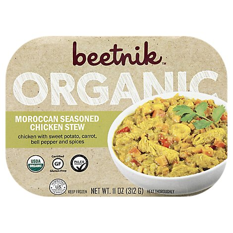 Beetnik Organic Moroccan Seasoned Chicken Stew - 11 Oz