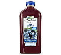 Bolthouse Farms 100% Fruit Juice Smoothie Blue Goodness - 52 Fl. Oz.