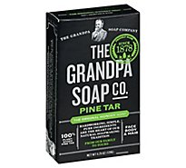 Grandpas Soap Pine Tar Original - 4.25 Oz