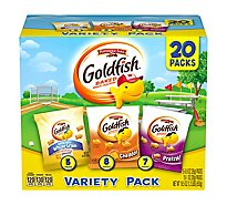 Pepperidge Farm Goldfish Crackers Baked Snack Variety Pack - 20-19.5 Oz