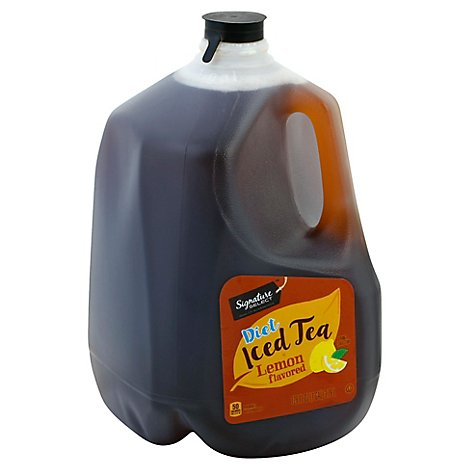 Signature SELECT Iced Tea Lemon Flavored Diet - 128 Fl. Oz.