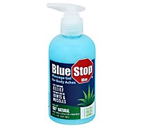 Blue Stop Max Massage Gel Premium - 8 Fl. Oz.