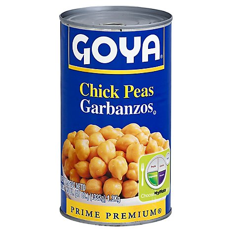 Goya Beans Chick Peas Can - 47 Oz