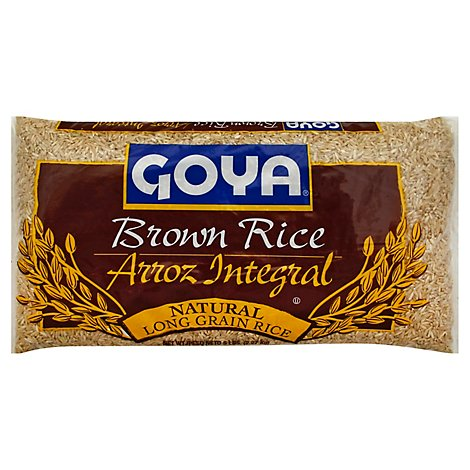 Goya Rice Brown Long Grain Bag - 5 Lb