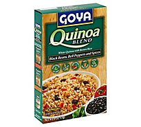 Goya Blend Quinoa Black Beans Bell Peppers And Spices Box - 6 Oz