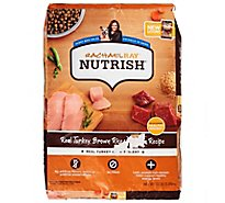 Rachael Ray Nutrish Food for Dogs Adult Natural Turkey Brown Rice & Venison Recipe Bag - 13 Lb