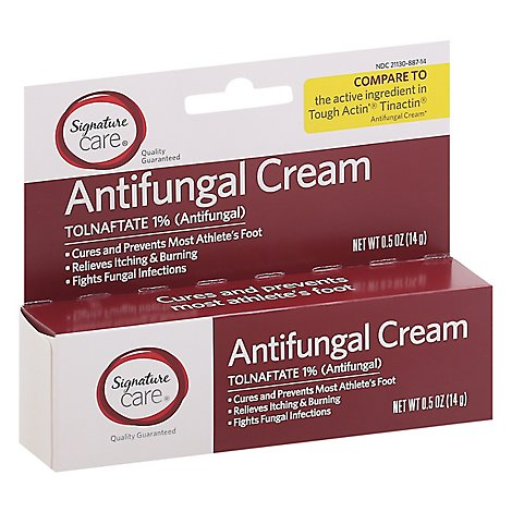 Signature Care Antifungal Cream Tolnaftate 1% - 0.5 Oz
