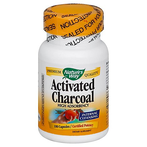 Charcoal Activated 560mg - 1 Each