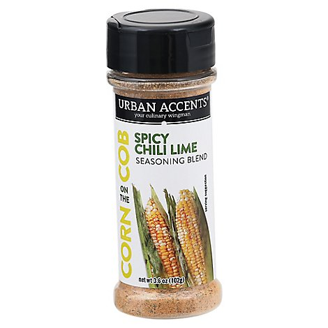 Urban Accents Seasoning Blend Corn On The Cob Chili Lime Spicy - Each
