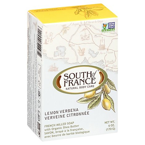 Soap Bar Lemon Verbena - 6 Oz