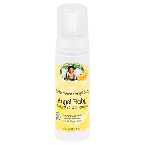 Wash Body & Shmpoo Angel - 5.3 Oz