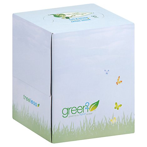 Face Tissue Cube Tree Free - 90 Piece