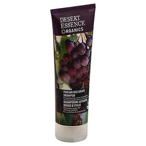 Shampoo Ital Red Grape Og - 8 Oz