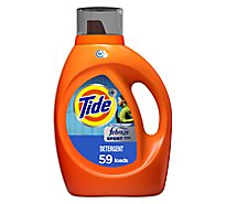 Tide Plus Liquid Laundry Detergent Febreze Freshness HE Clean Sport Odor Defense - 92 Fl. Oz.