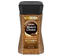 NESCAFE Tasters Choice Coffee Instant French Roast Jar - 7 Oz