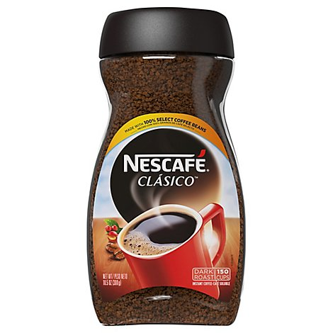 NESCAFE Classico Coffee Instant Dark Roast - 10.5 Oz