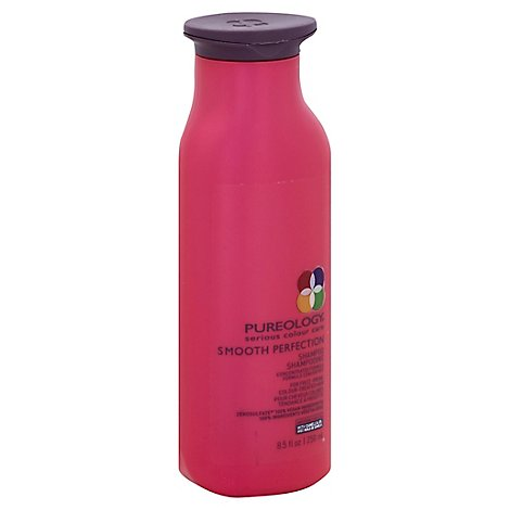 Pureology Smooth Perfection Shampoo for Frizz-Prone Colour-Treated Hair - 8.5 Fl. Oz.