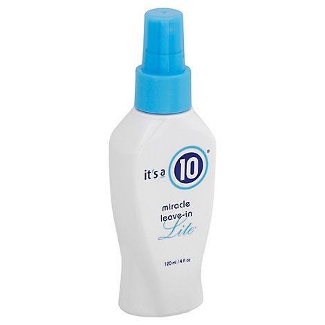 Its A 10 Miracle Leave In Lite - 4 Fl. Oz.