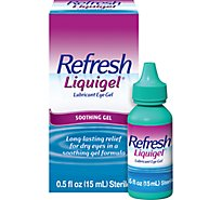Refresh Gel Lube Eye Drop 0.5 Oz - 0.5 Oz
