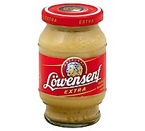 Lowensenf Mustard Extra Hot - 9.3 Oz