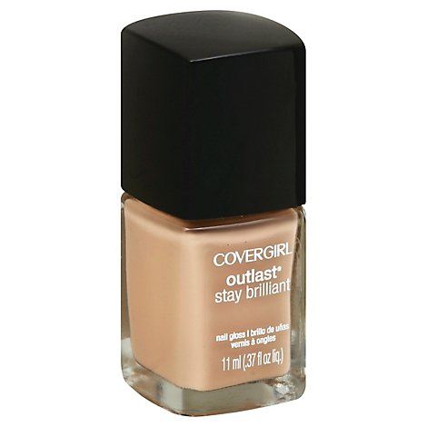 COVERGIRL Outlast Stay Brilliant Nail Gloss Forever Fawn 205 - 0.37 Fl. Oz.
