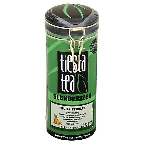 Tiesta Tea Slenderizer Green Tea Fruity Pebbles - 4 Oz