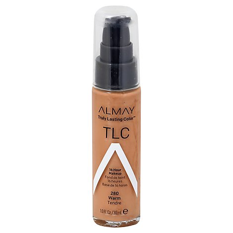 Almay Truly Lasting Color Make Up Warm - 1 Oz