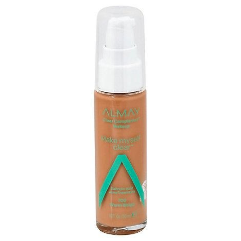 Almay Clear Complexion Liquid Make Up Warm - 1 Oz