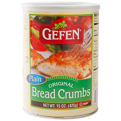 Gefen Bread Crumbs Plain Original - 15 Oz