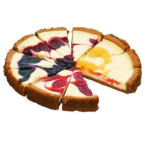 The Fathers Table Cheesecake Variety Fruit Swirl - Each