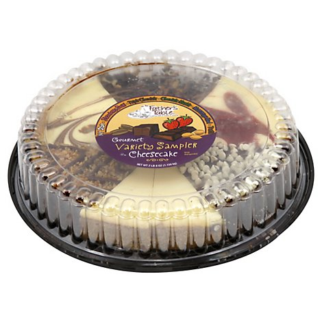 Fathers Table Cake Cheesecake Variety - 40 Oz