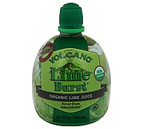 Volcano Juice Lime Burst Org - Each
