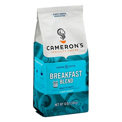 Camerons Coffee Handcrafted Breakfast Blend - 12 Oz