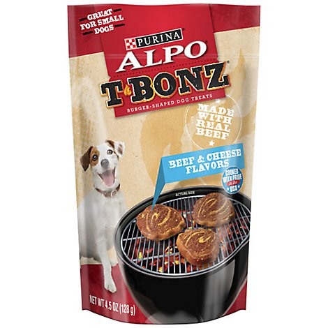 Alpo Tbonz Dog Treats Beef & Cheese - 4.5 Oz