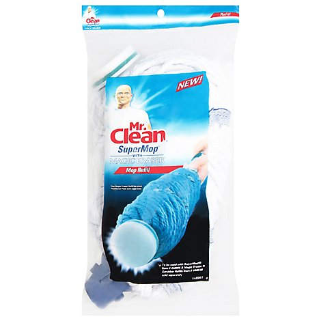 Mr. Clean SuperMop Mop With Magic Eraser Refill - 1 Count