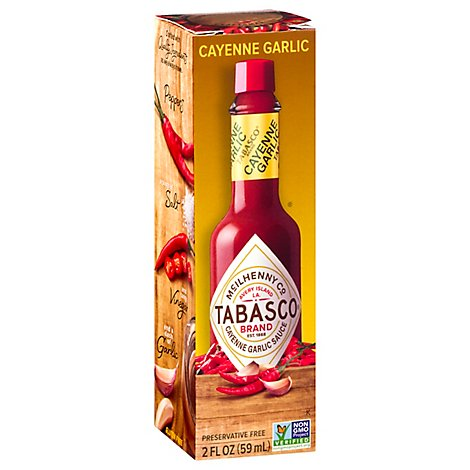 TABASCO Sauce Garlic Pepper - 2 Oz